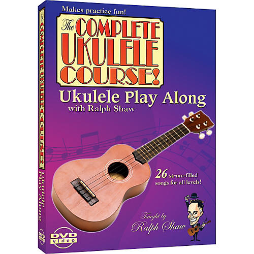 eMedia Ukulele Play Along with Ralph Shaw DVD