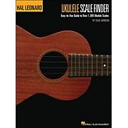 Hal Leonard Ukulele Scale Finder Book 9 X 12  Size