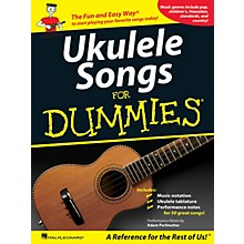 Hal Leonard Ukulele Songs For Dummies Songbook