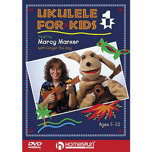 Homespun Ukulele for Kids - Lesson 1 (DVD)-thumbnail