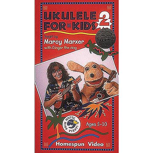 Homespun Ukulele for Kids - Volume 2 (VHS)-thumbnail
