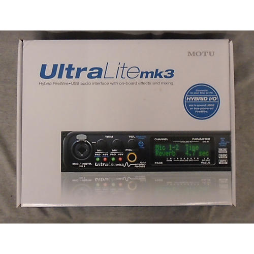 MOTU Ultalite Mk3 Audio Interface