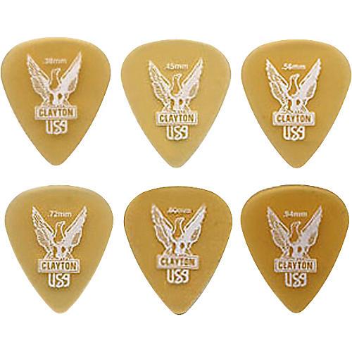 Clayton Ultem Standard Guitar Picks-thumbnail