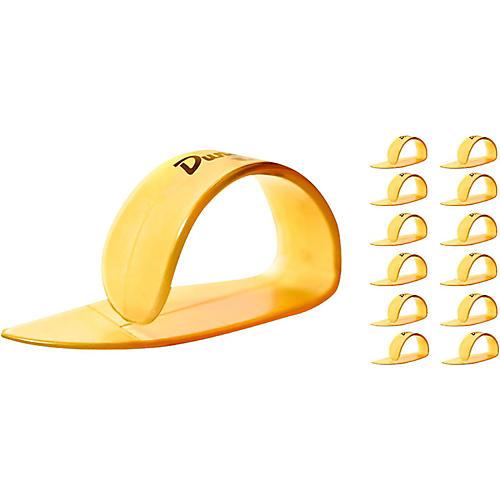 Dunlop Ultex Medium Thumbpicks Gold (12-Pack)