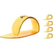 Dunlop Ultex Medium Thumbpicks Gold (4-Pack)
