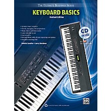 Alfred Ultimate Beginner Keyboard Basics (Revised Edition) Book & CD