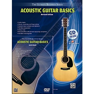 Alfred Ultimate Beginner Mega Pak Acoustic Guitar Basics Rev. Ed. Book, C...
