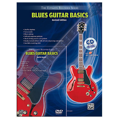 Alfred Ultimate Beginner Mega Pak Blues Guitar Basics (Rev. Ed.) Book, CD & DVD