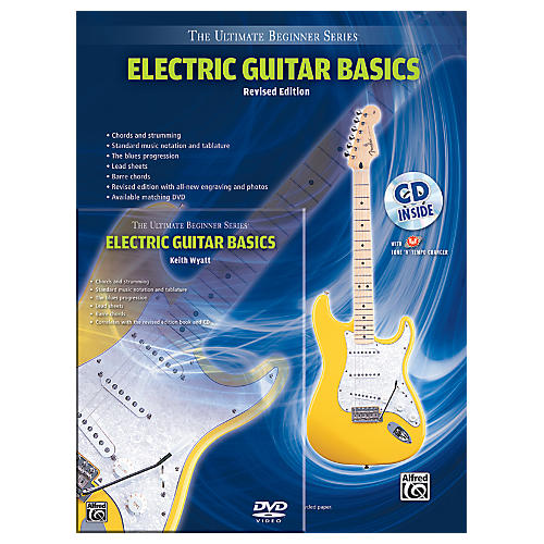 Alfred Ultimate Beginner Mega Pak Electric Guitar Basics (Rev. Ed.) Book, CD & DVD
