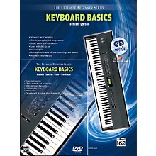 Alfred Ultimate Beginner Mega Pak Keyboard Basics (Rev. Ed.) Book, CD & DVD