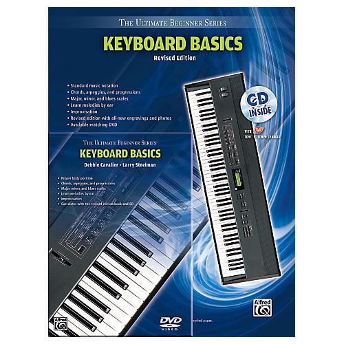 Alfred Ultimate Beginner Mega Pak Keyboard Basics (Rev. Ed.) Book, CD & DVD-thumbnail