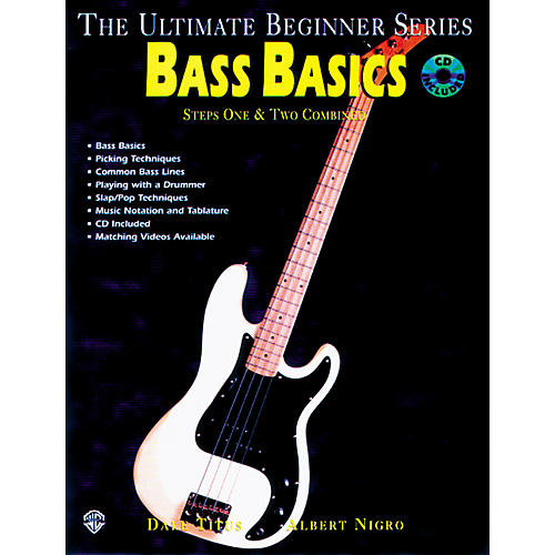 Alfred Ultimate Beginner Series - Bass Basics (CD)