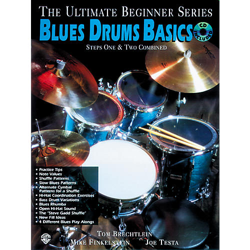 Alfred Ultimate Beginner Series - Blues Drums Basics (CD)