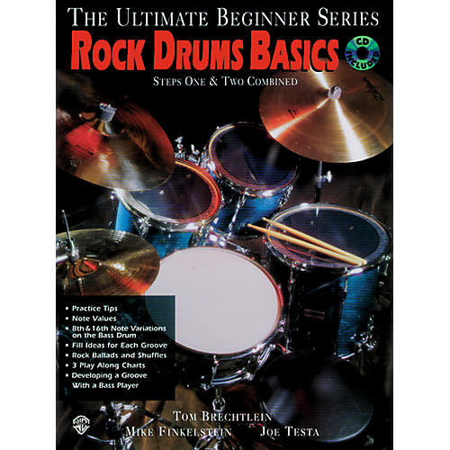 Alfred Ultimate Beginner Series - Rock Drums Basics (Book/CD)
