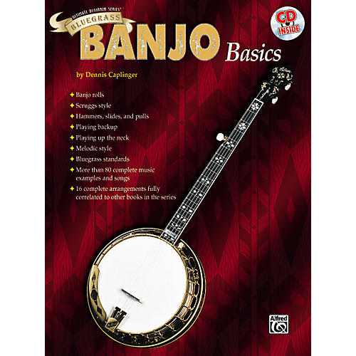 Alfred Ultimate Beginner Series Bluegrass Banjo Basics Book & CD-thumbnail