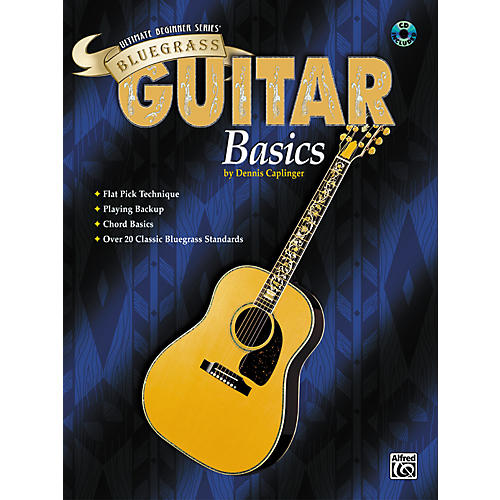 Alfred Ultimate Beginner Series: Bluegrass Guitar Basics Book/CD-thumbnail