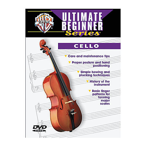 Alfred Ultimate Beginner Series Cello (DVD)-thumbnail
