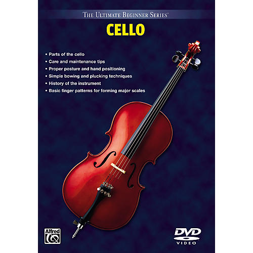 Alfred Ultimate Beginner Series DVD for Cello