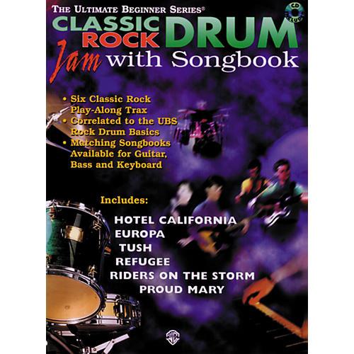 Warner Bros Ultimate Beginner Series Drum Songbook - Classic Rock (CD)