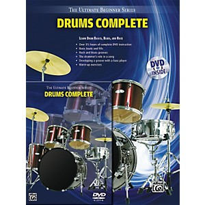 Alfred Ultimate Beginner Series Drums Complete Book and DVD by Alfred