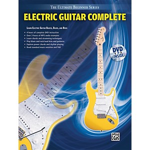 Alfred Ultimate Beginner Series: Electric Guitar Complete Book/DVD by Alfred