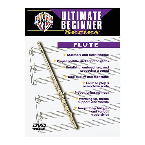 Warner Bros Ultimate Beginner Series Flute (DVD)