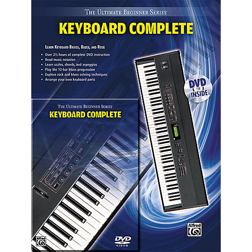 Alfred Ultimate Beginner Series Keyboard Complete Book & DVD-thumbnail