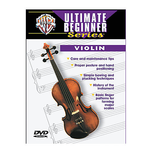 Warner Bros Ultimate Beginner Series Violin (DVD)-thumbnail