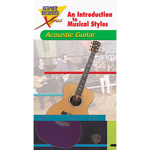 Alfred Ultimate Beginner Xpress - Acoustic Guitar Styles-thumbnail