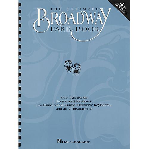 Hal Leonard Ultimate Broadway Fake Book