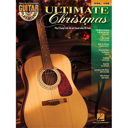 Hal Leonard Ultimate Christmas - Guitar Play-Along Vol. 158 Book/CD