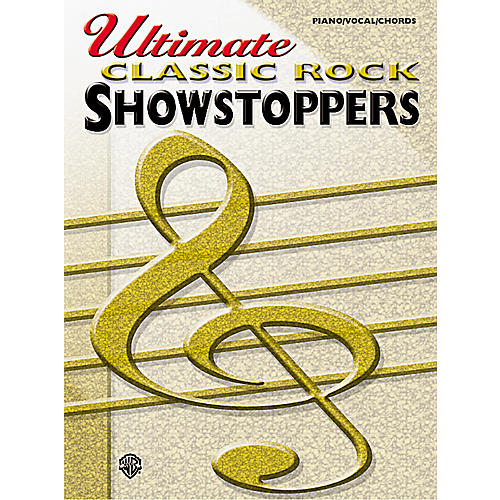 Alfred Ultimate Classic Rock Showstoppers Book