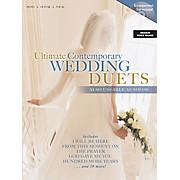 Word Music Ultimate Contemporary Wedding Duets Sacred Folio Series Softcover with CD