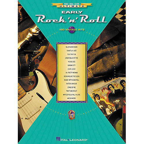 Hal Leonard Ultimate Early Rock 'N' Roll Piano/Vocal/Guitar Songbook