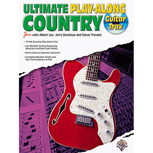 Alfred Ultimate Guitar Country Play-Along (CD)