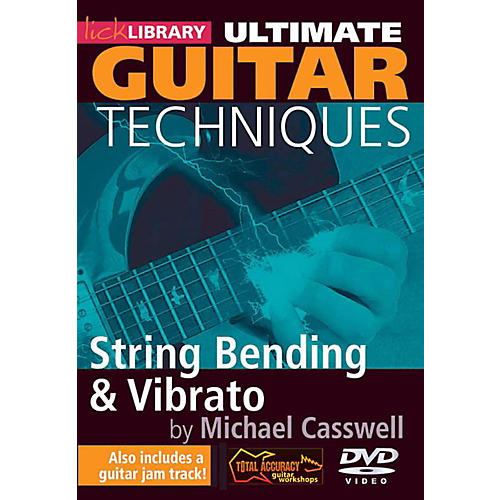 Hal Leonard Ultimate Guitar Techniques - String Bending And Vibrato Lick Library DVD-thumbnail