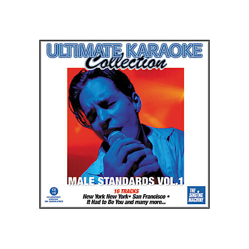 The Singing Machine Ultimate Karaoke Collection Male Standards Volume 1 Karaoke CD+G