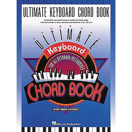 Hal Leonard Ultimate Keyboard Chord Book