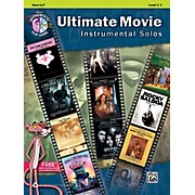 Alfred Ultimate Movie Instrumental Solos for French Horn Book & CD