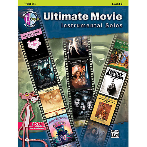 Alfred Ultimate Movie Instrumental Solos for Trombone Book & CD-thumbnail