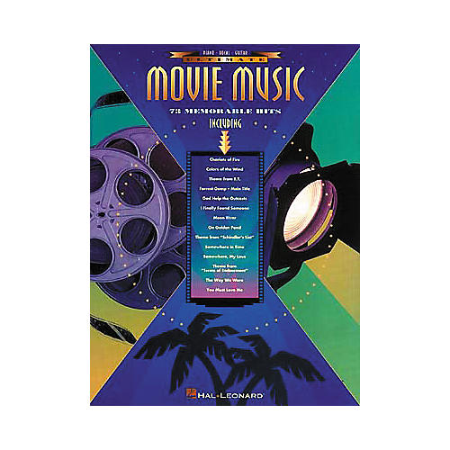 Hal Leonard Ultimate Movie Music Piano, Vocal, Guitar Songbook