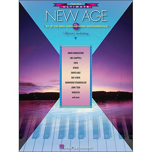 Hal Leonard Ultimate New Age Piano Solo - 39 Of The Best Contemporary Instrumentals arranged for piano solo-thumbnail