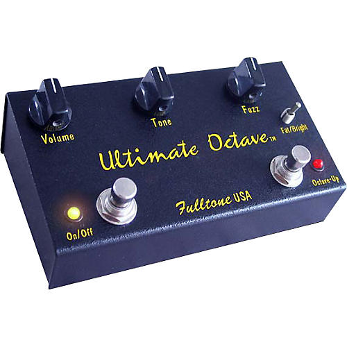 Fulltone Ultimate Octave Guitar Effects Pedal