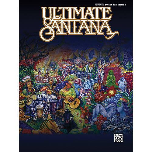 Alfred Ultimate Santana Guitar Tab Book-thumbnail