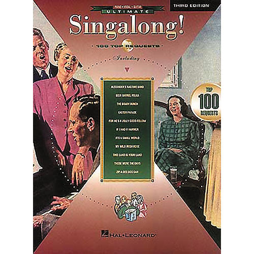 Hal Leonard Ultimate Singalong! 100 Requests Piano/Vocal/Guitar Songbook-thumbnail