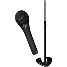 Audix Ultimate Support OM-2 Microphone with PRO-SB Stackable Base Mic Stand Pack
