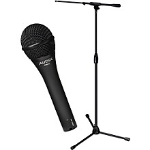 Audix Ultimate Support OM-2 Microphone with PRO-T-T Telescoping Boom Mic Stand Pack