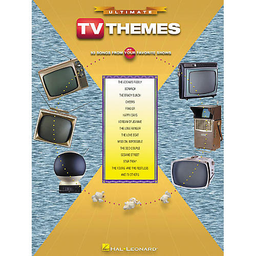 Hal Leonard Ultimate TV Themes Piano/Vocal/Guitar Songbook