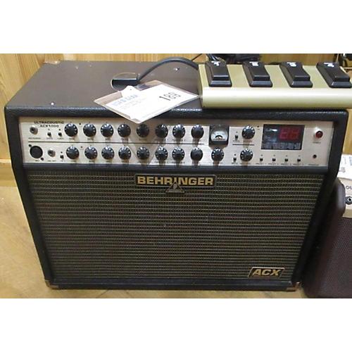 Behringer Ultra Acoustic Acx1000 Acoustic Guitar Combo Amp