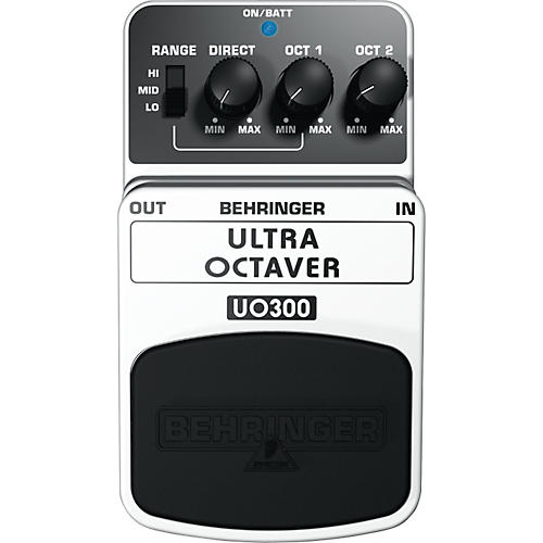 Behringer Ultra Octaver UO300 3-Mode Octaver Effects Pedal-thumbnail